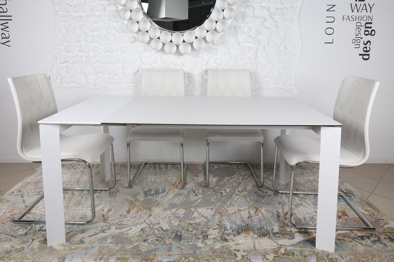 Стол Nicolas Bristol B 4426L керамика 130 белый