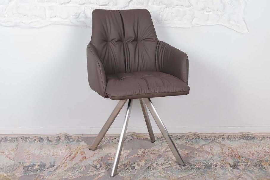Кресло Nicolas Leon F369B/Z мокко поворотное