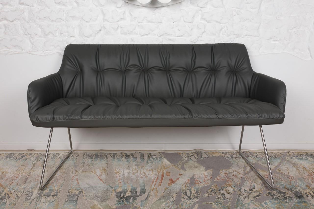Кресло-банкетка Nicolas Leon F369 L темно-серая