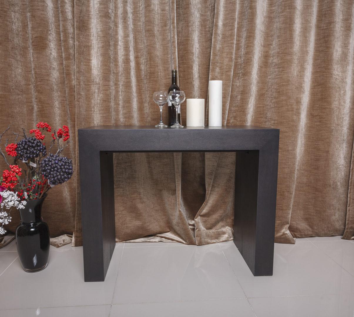 Стол-консоль Nicolas Manchester 3899L (45/200*95) венге
