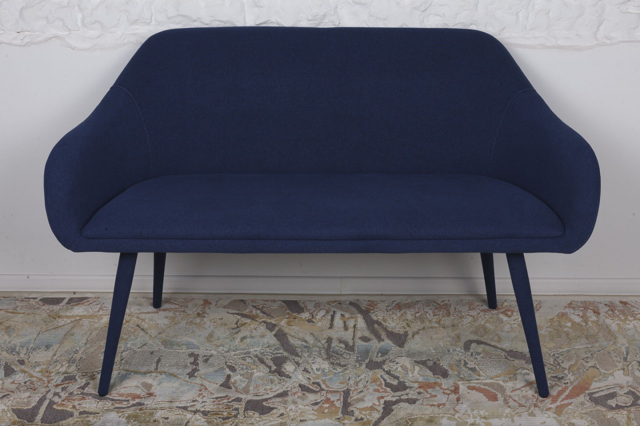 Кресло-банкетка Nicolas Maiorica F-261 темно-синяя