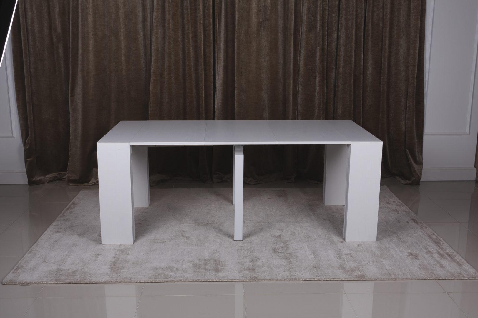 Стол-консоль Nicolas Manchester 3899L (45/200*95) белый