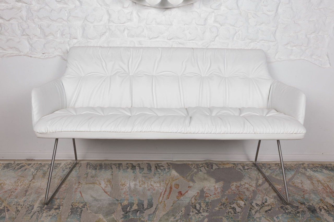 Кресло-банкетка Nicolas Leon F369 L белая