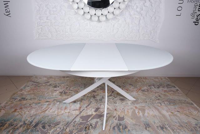 Стол Nicolas Cambridge 4627L (125/175*125) белый