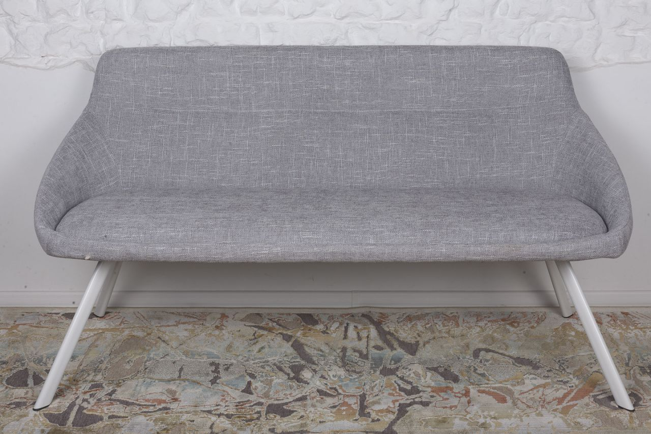 Кресло-банкетка Nicolas Toledo F293 светло-серая