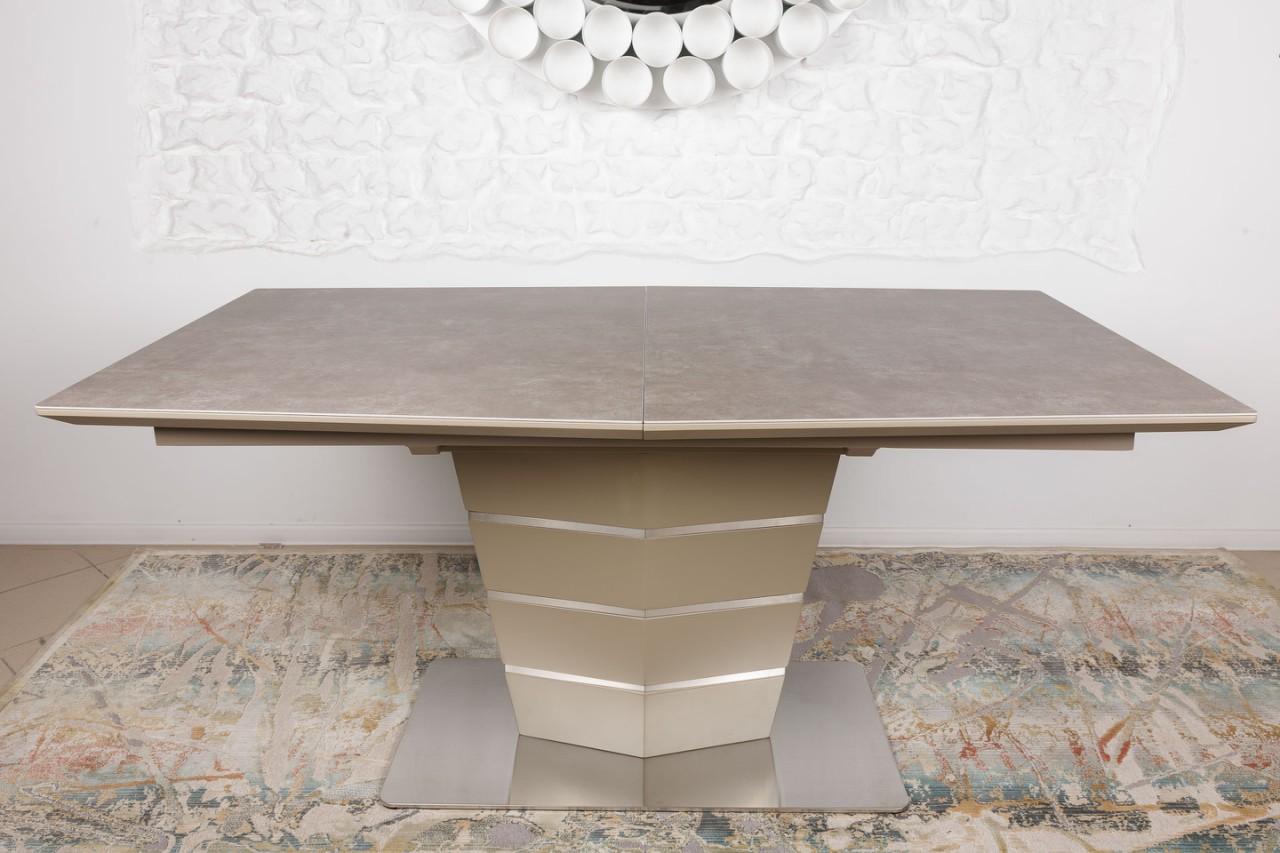 Стол Nicolas Baltimore HT2535 (160/210*90) керамика мокко
