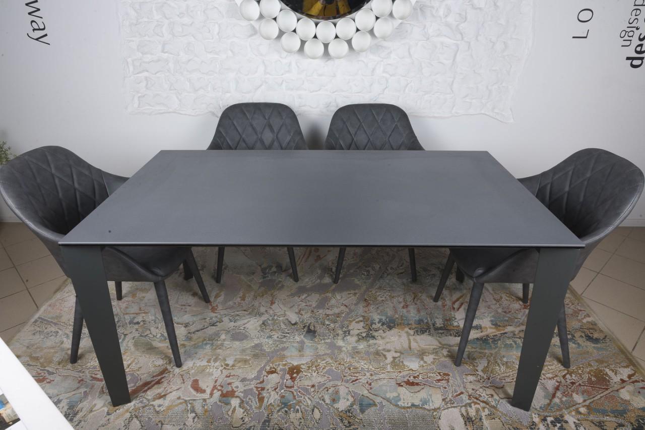 Стол Nicolas Liverpool 4622L 160 керамика графит