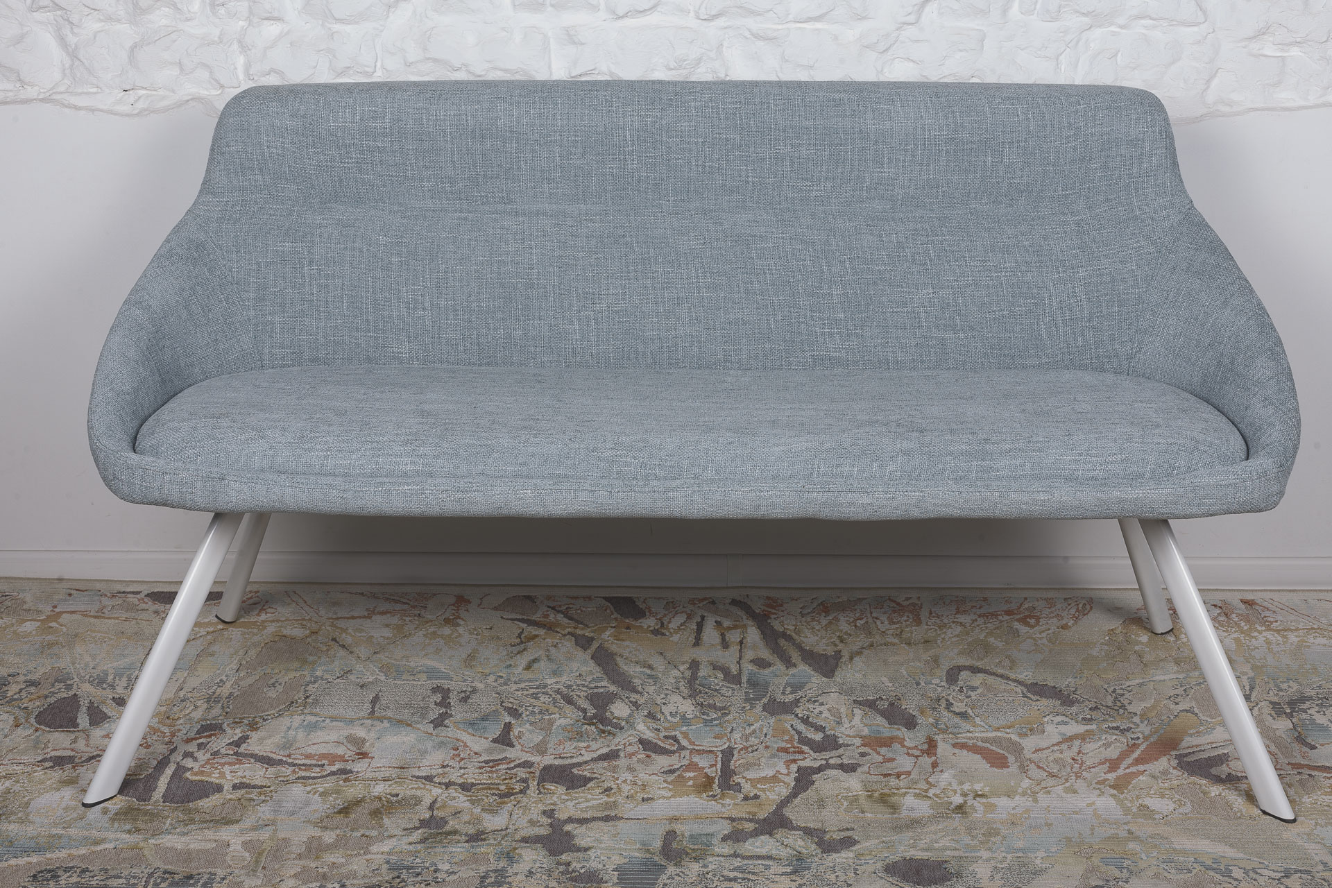 Кресло-банкетка Nicolas Toledo F293 бледно-бирюзовая