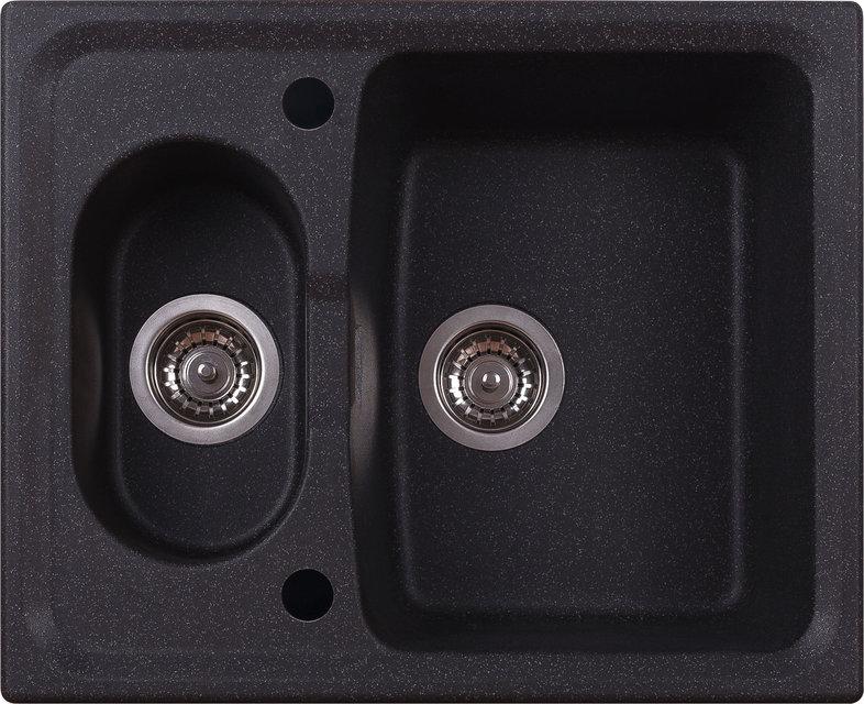 Кухонная мойка ALVEUS ABLUO 70 (UG-95 черный металлик)