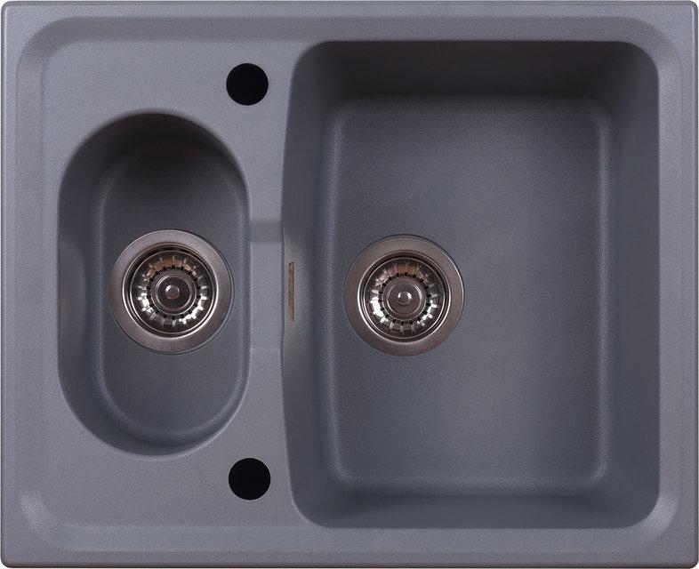 Кухонная мойка ALVEUS ABLUO 70 (UG M-42 темно-серый металлик)