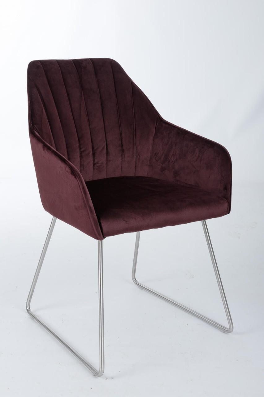 Кресло Nicolas Benavente F395BY (гранат)
