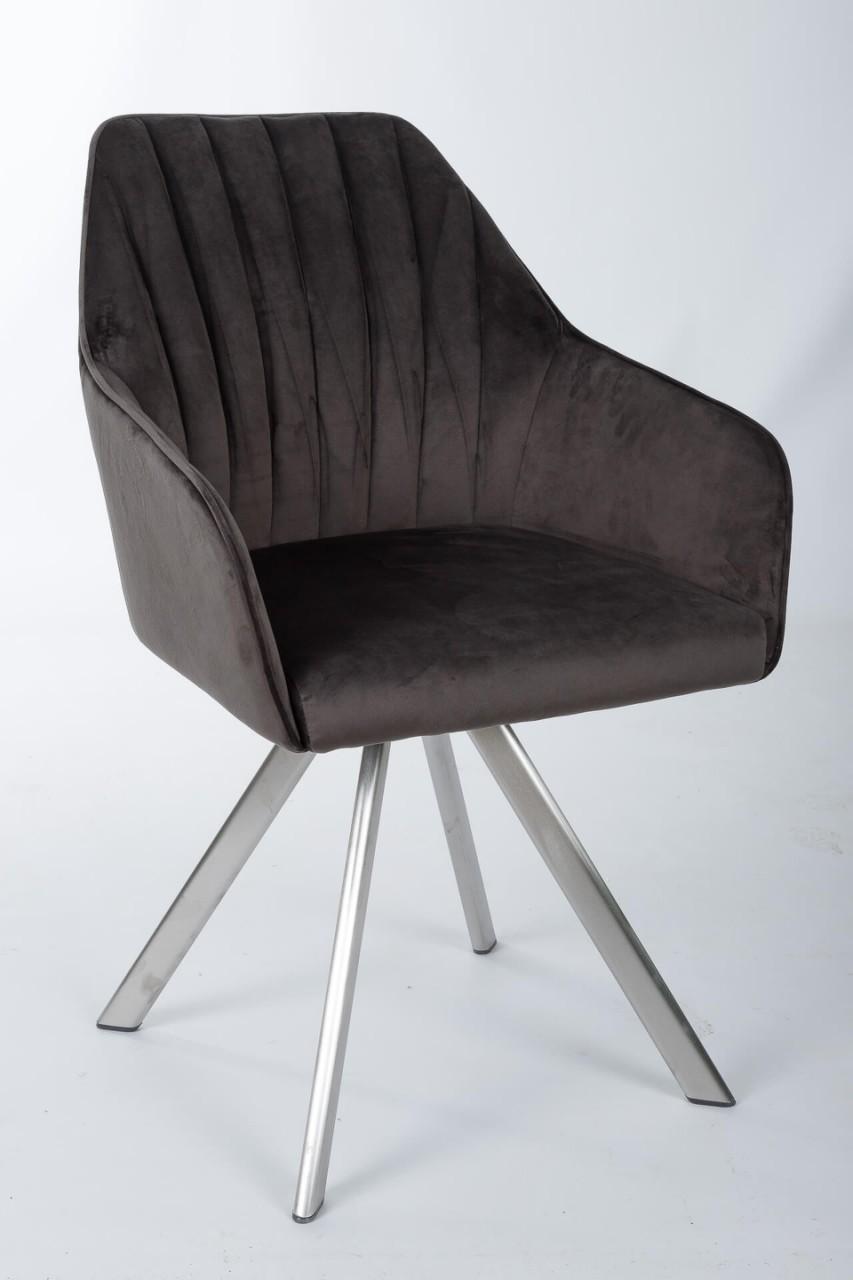 Кресло Nicolas Galera F395 поворотное (антрацит)