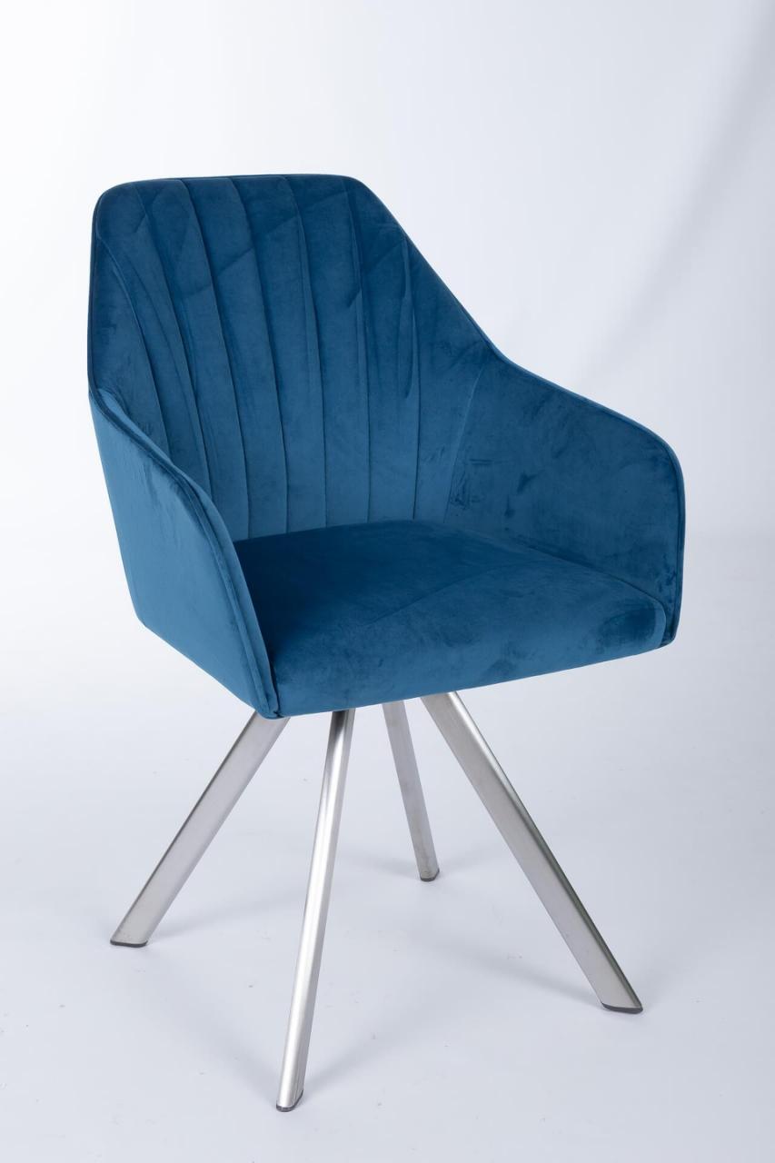 Кресло Nicolas Galera F395 поворотное (синее)