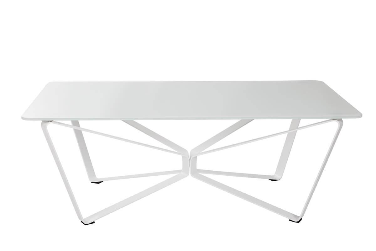 Стол журнальный Luton 4760С 125 керамика (светло-серый глянец)