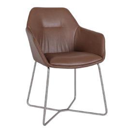 Кресло Nicolas Laredo F518B/SY молочный шоколад