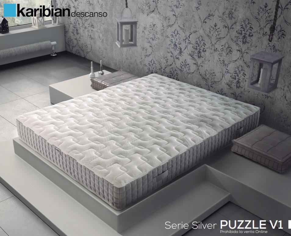Матрас Karibian Silver Puzzle (180 x 200)