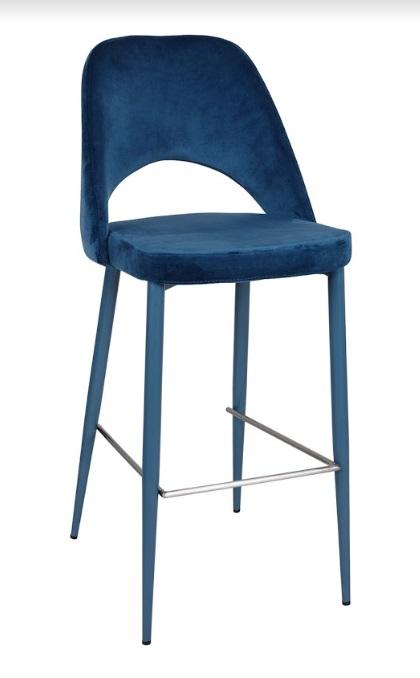 Стул барный Nicolas Innsbruck 1400В синий