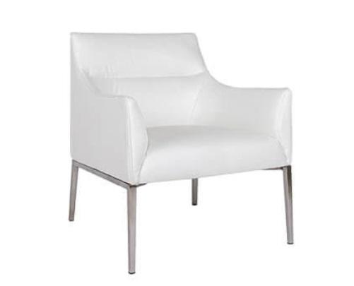 Лаунж-кресло Nicolas Merida F516 белое