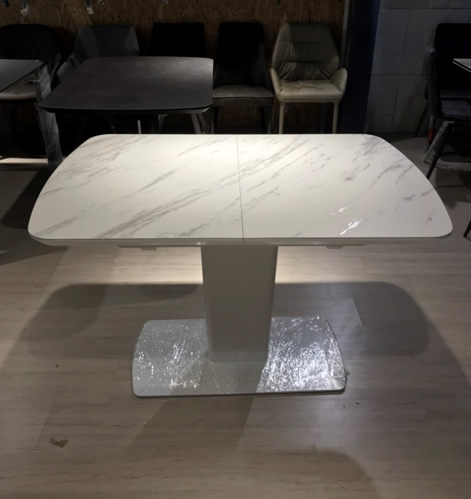 Стол Nicolas Maryland HT81002 (120/160*80) керамика белый