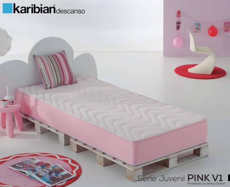 Матрас Karibian Juvenil Pink (90 х 200)