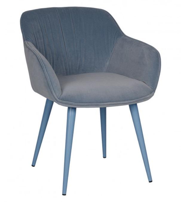 Кресло Nicolas Carinthia 1501 голубое