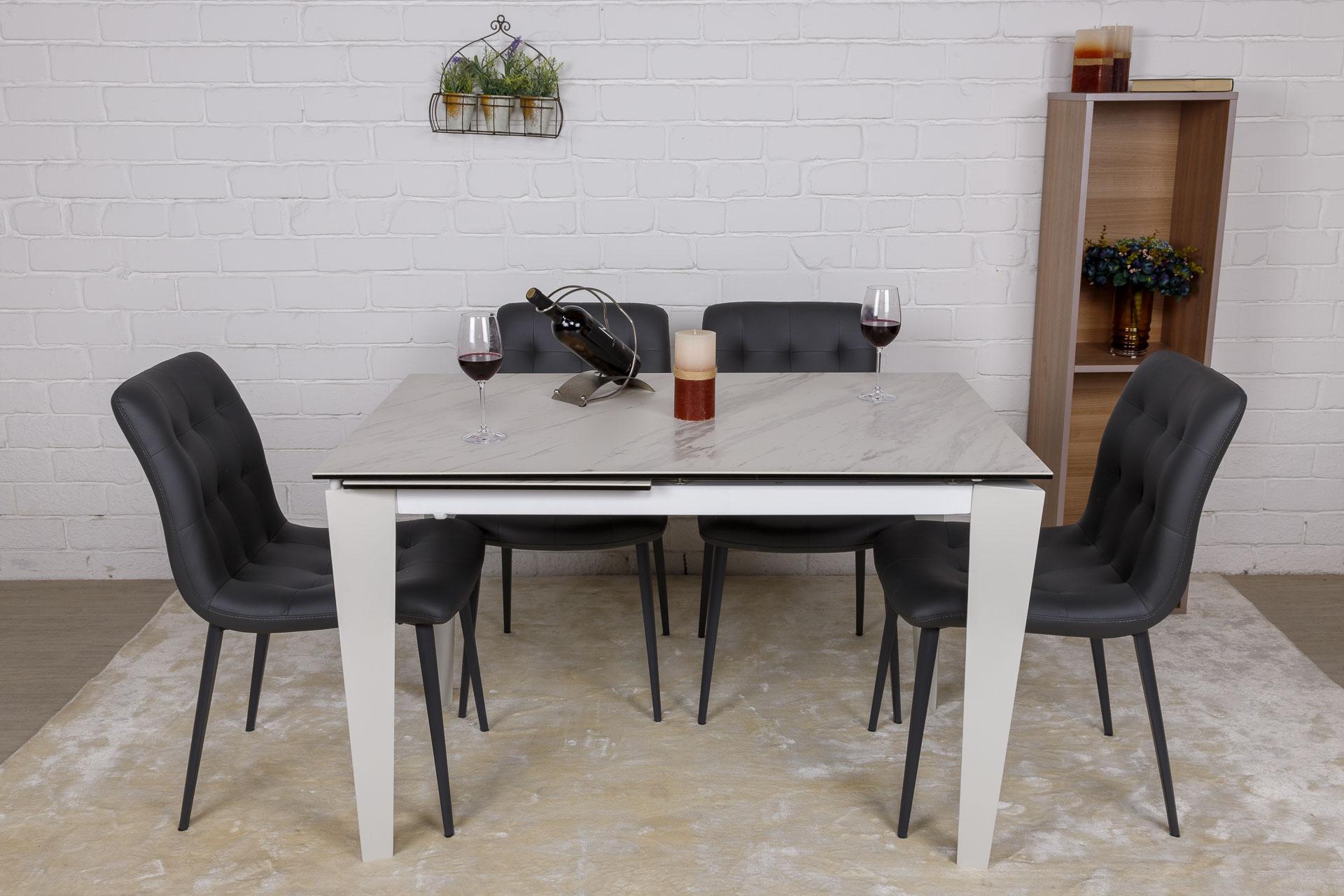 Стол Nicolas Alta DF511T 120 керамика белый