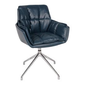 Кресло Nicolas Palma F373 синее поворотное
