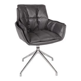Кресло Nicolas Palma F373 серое поворотное
