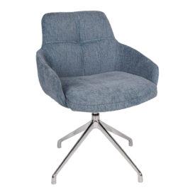 Кресло Nicolas Oliva F523A поворотное синее