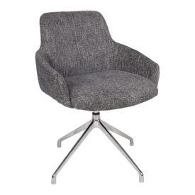 Кресло Nicolas Oliva F523A поворотное серое