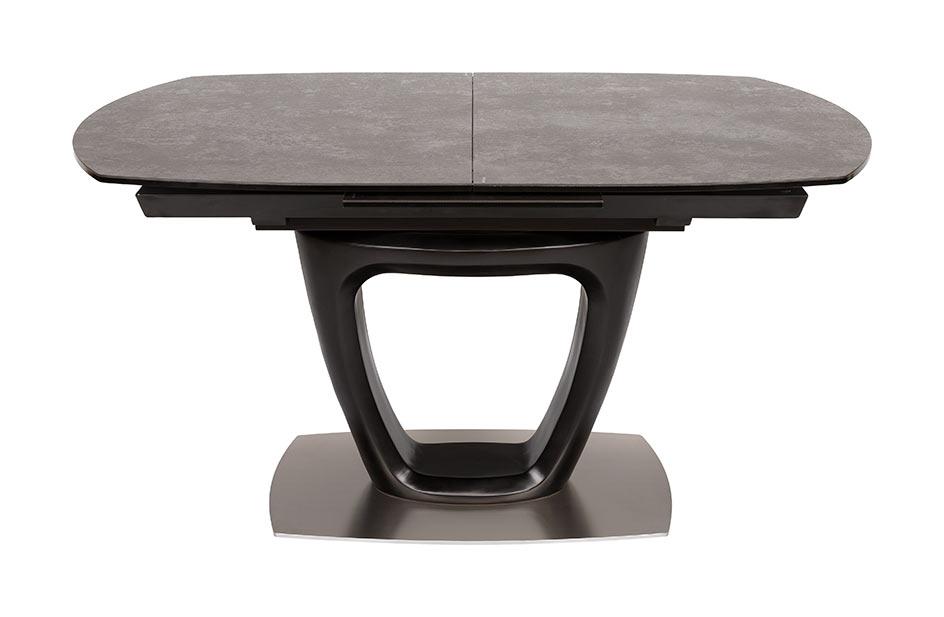 Стол Nicolas Ottawa HT51003 (140/180*85) черный керамика