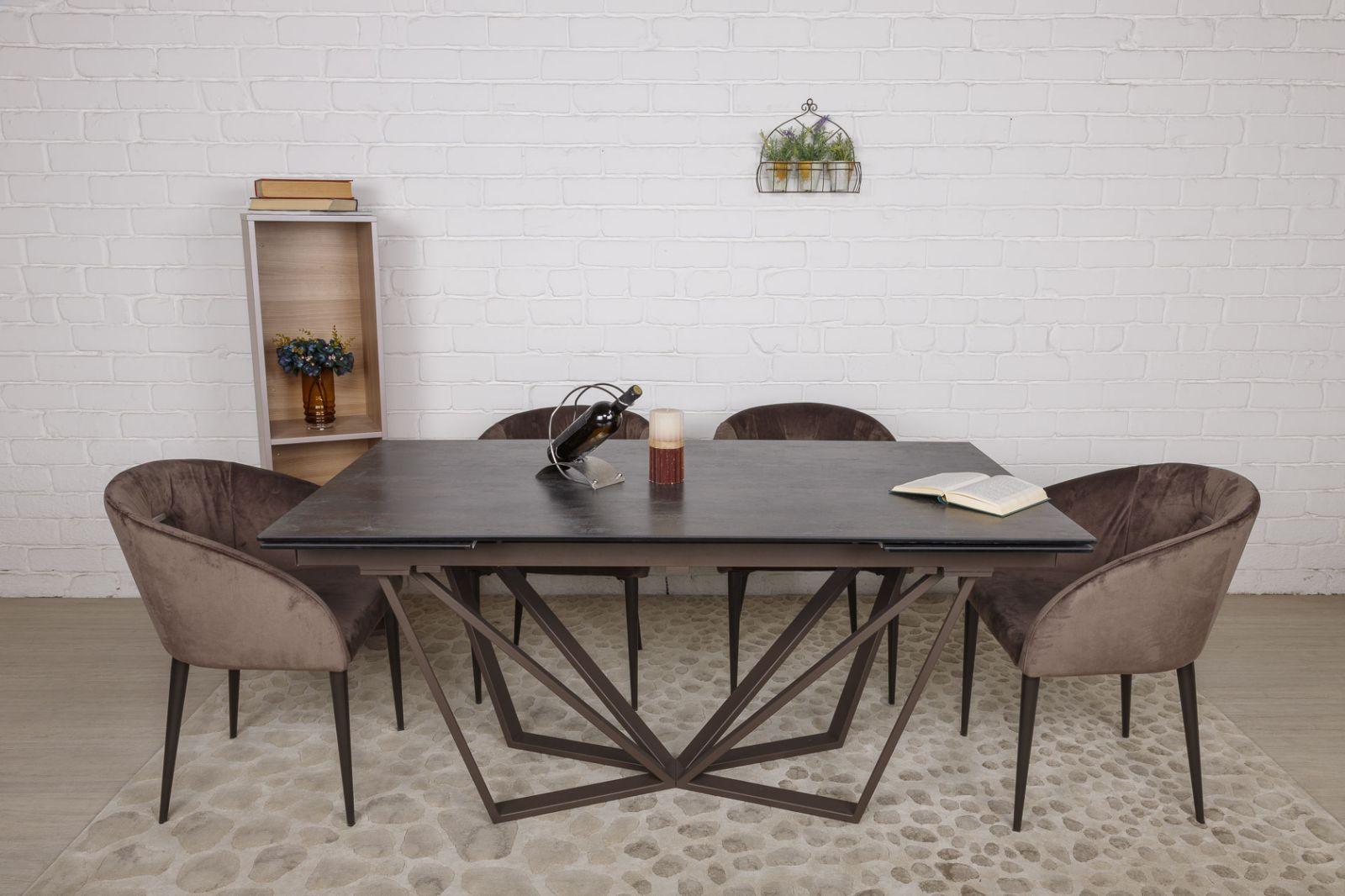 Стол Nicolas Nottingham 4726L керамика коричневый
