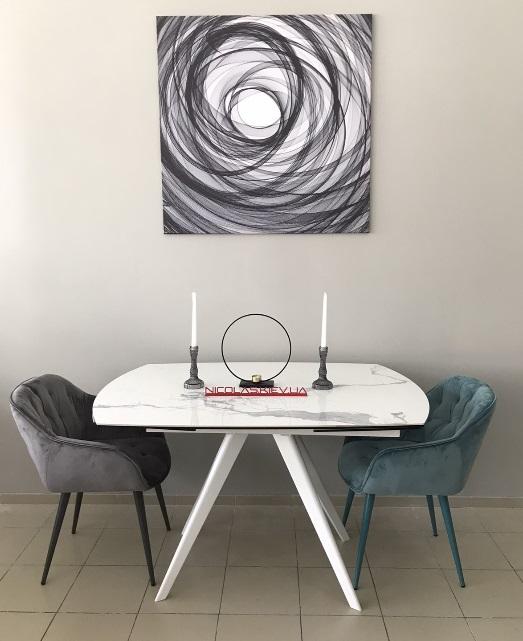Стол Nicolas Coventry керамика белый