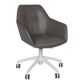 Кресло Nicolas Laredo F518 серое на колесиках