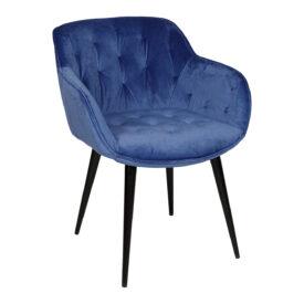 Кресло Nicolas Viena синее 1500