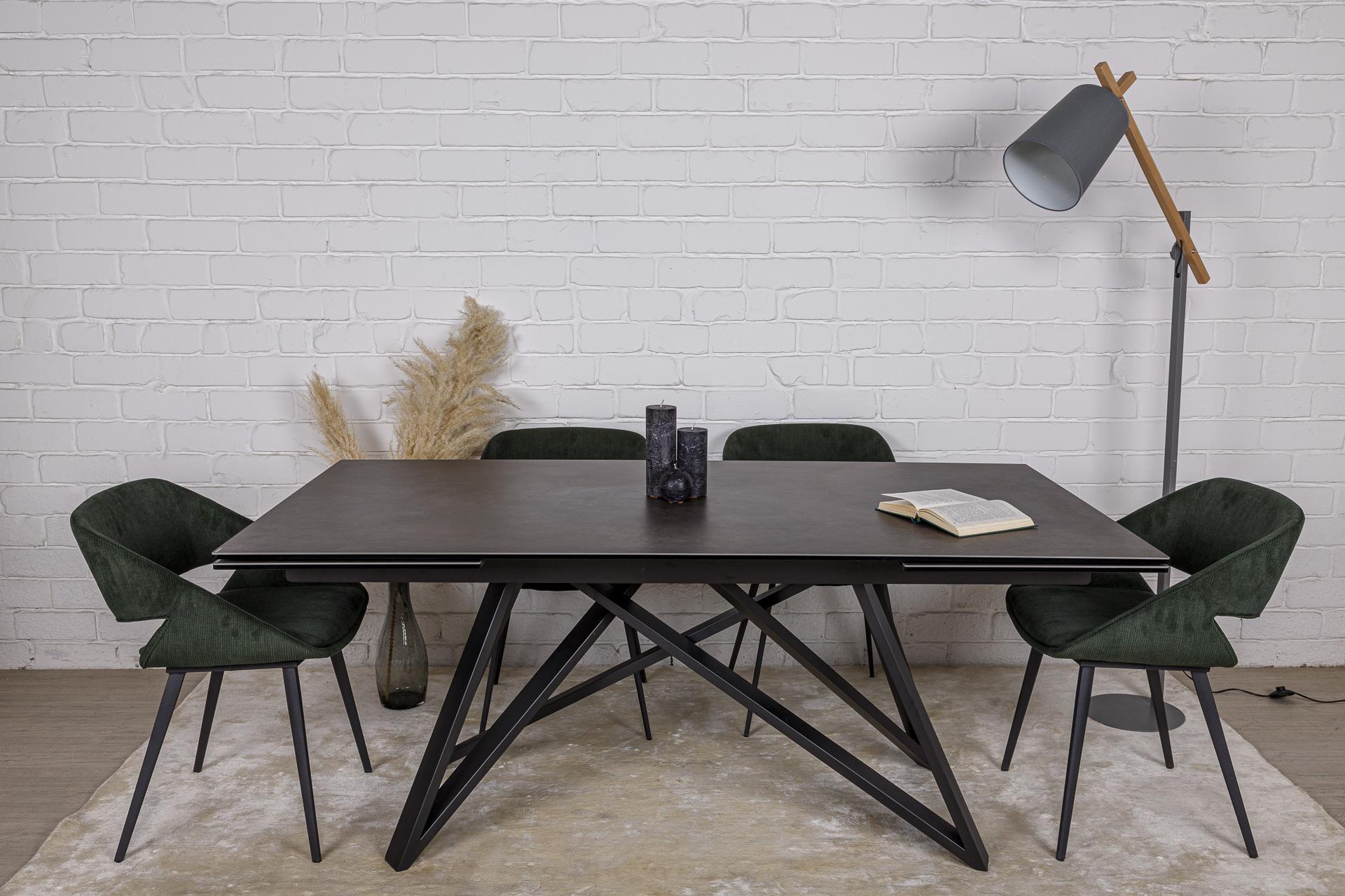 Стол Nicolas Ajax 180 HT92019KL керамика черный